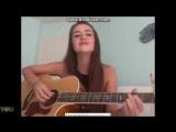 Catie Lee singing an original (via YouNow)