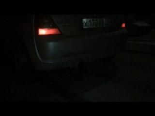 Renault Clio Sport 172. Exhaust flames
