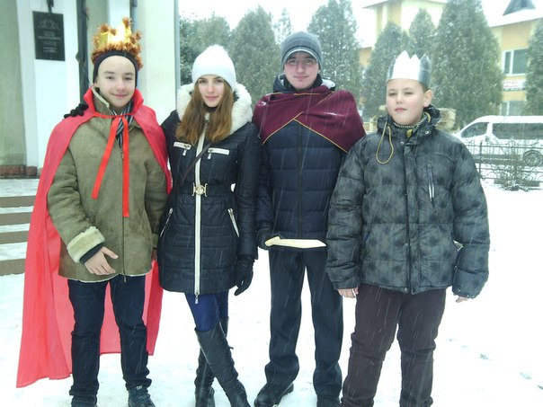 Різдвяний вертеп вже традиційно пройшов у Калуші!