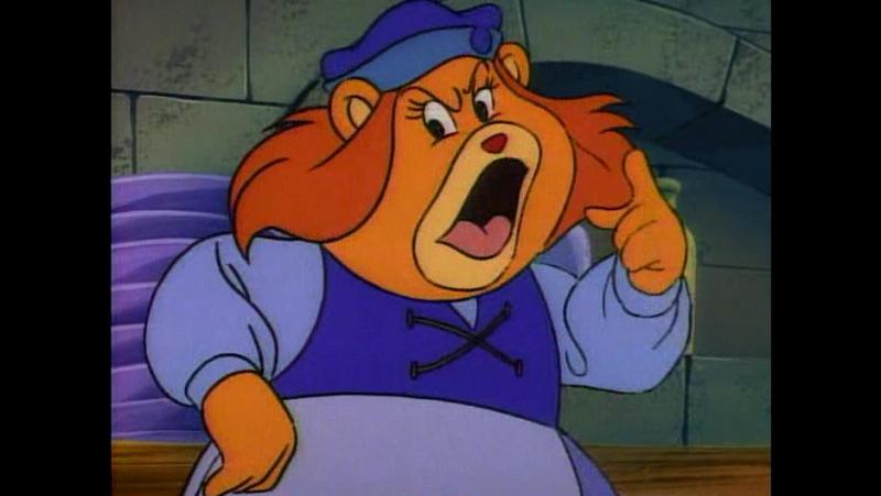 Adventure of the Gummi Bears Колдун даёт жару Zummi Makes It Hot