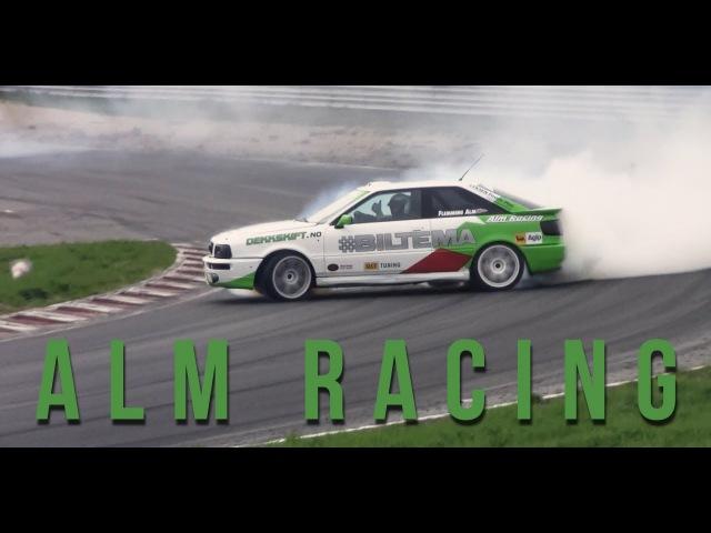 ALM Racing raw footage PART 1 AUDI S4 S2 4 wheel drift at Gatebil