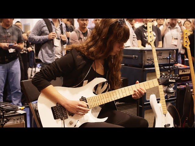 NAMM 2016 Nili Brosh Live At The Dunlop Booth