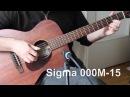 Martin vs Sigma vs Gibson vs Santa Cruz guitars comparison - acoustic blues