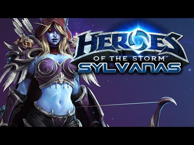 Let's play - Heroes Of The Storm - Sylvanas Gameplay Walkthrough 23 - No Commentary