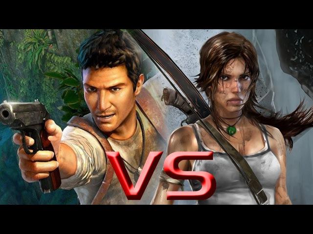 Tomb Raider vs Uncharted 3 HD Comparison