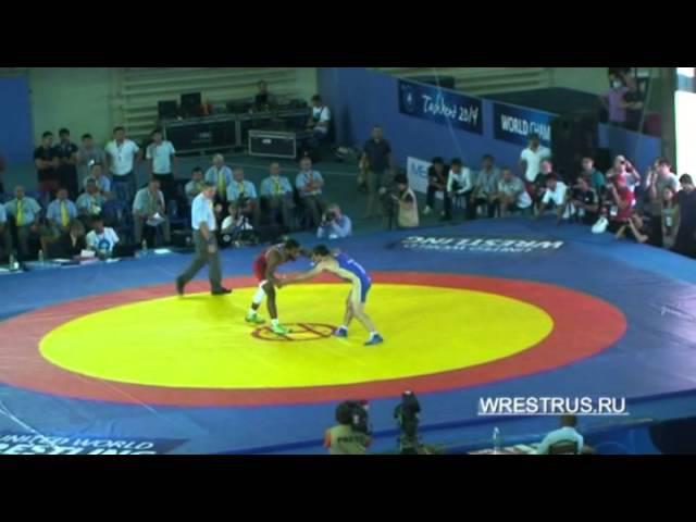 ЧМ-2014. 74 кг. Денис Царгуш - Джордан Барроуз (США). 12 финала