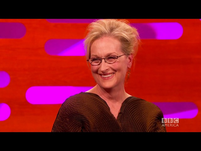 Meryl Streep TURNED DOWN for an audition? - The Graham Norton Show