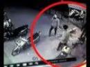 Rekaman CCTV perampok berjubah hitam