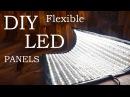 How to Make Flexible LED Panels DIY Flex Lights