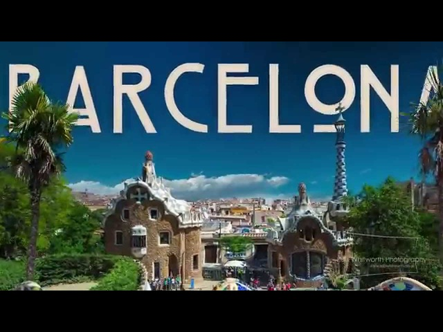 Barcelona City by Rob Witworth - Hyperlapse