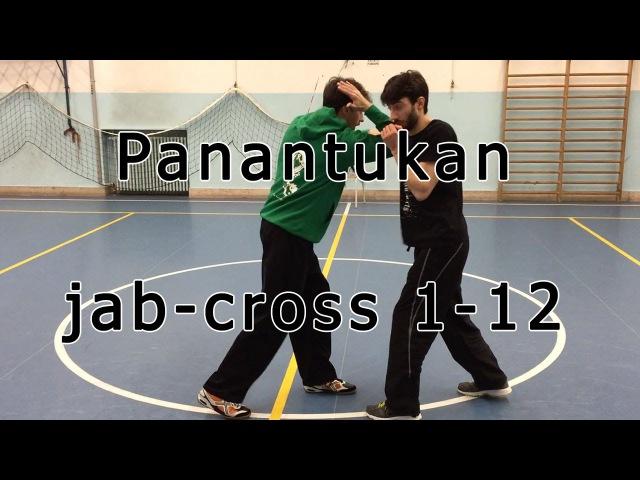 Panantukan 1 12 su cross attaccare le braccia dell'avversario