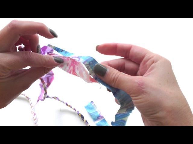 Let's Make: Fabric Scrap Twine