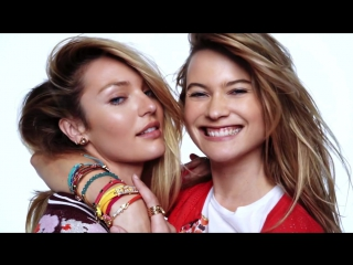 Candice Swanepoel, Behati Prinsloo for Juicy Couture Spring-Summer 2016