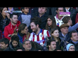 Чемпионат Испании 2015-16 / 22-й тур / Барселона — Атлетико (Мадрид) / 2 тайм