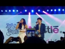 JaDine singing Bahala Na Live! (last part); jadine
