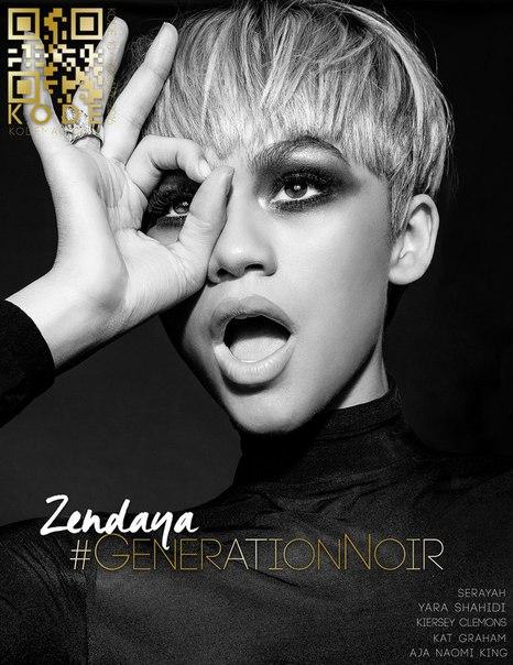 Zendaya в журнала «Kode» 2016