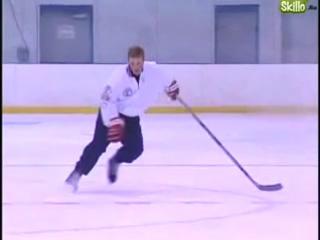 Катание на коньках. Способы торможения