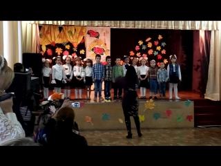 песня про журавлика,праздник осени 06.11.2015 Подготовишки 2.