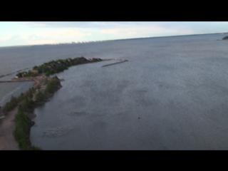 Дрейф в небе на островом Кронштадт 2015год лето май