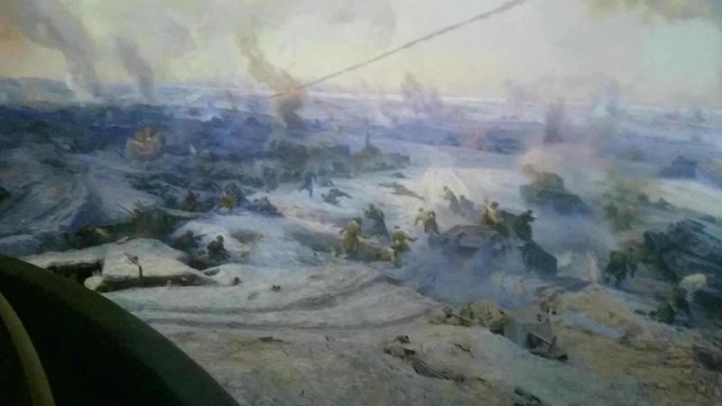 Волгоград. Музей Сталинградская битва. Очень крутая диарама на 360 градусов. » Freewka.com - Смотреть онлайн в хорощем качестве