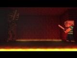 Битва Титанов-Майнкрафт (прикол мультик)