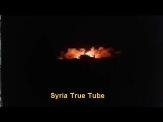 ريف ادلب -- استهداف مواقع ارهابيي جيش الفتح براجمات الصواريخ الروسية الحديثة