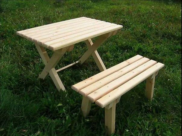 Мебель для беседки своими руками из дерева