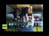 Russia: Man gets stuck in roof during robbery attempt, gets arrested