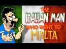 The Italian Man Who Went To Malta 🇮🇹 ORIGINAL ANIMATED VERSION 2009