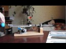 Заточка ножа на приспособлении. avi 1