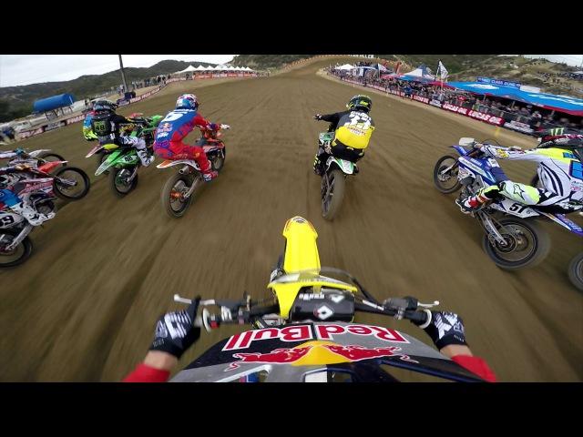 GoPro: Ken Roczen Moto 2 - Glen Helen MX Lucas Oil Pro Motocross Championship 2015
