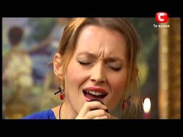 Aida Nikolaychuk sings for Thomas Anders. X Factor - 3 [20.10.2012]