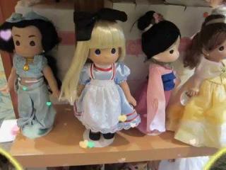 Precious Moments Disney Princess Dolls (no verbal track) - Disney Toy Review