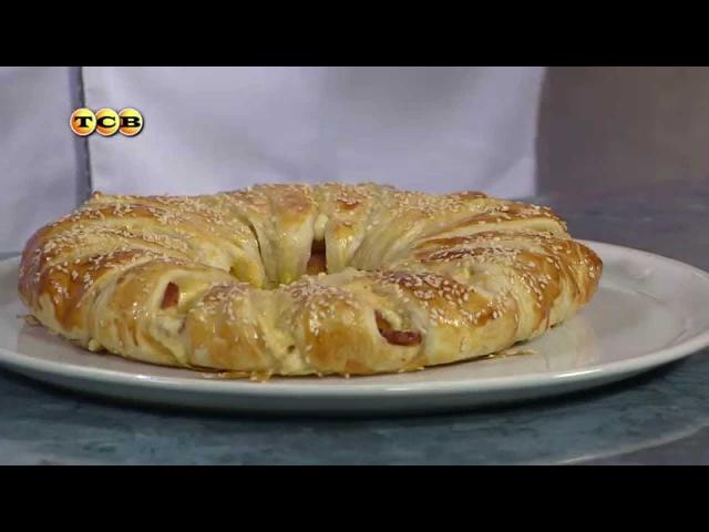 Слоёный пирог с сыром и беконом - Дело вкуса