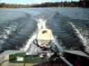 10 hp Evinrude Running on Crestliner Boat