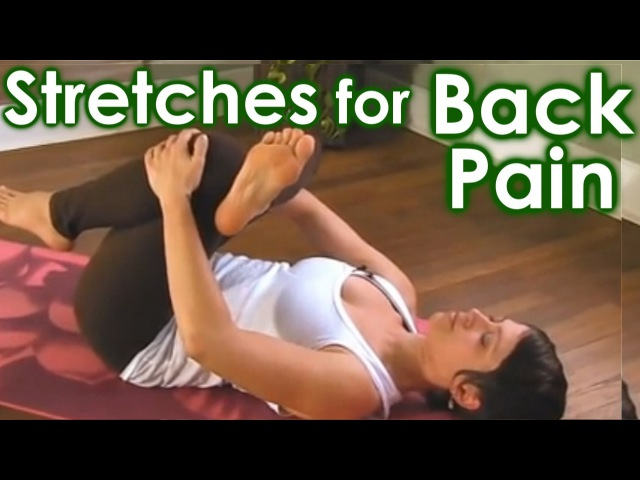 How To Yoga Stretches for Low Back Pain Sciatica Relief by Jen Hilman