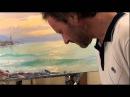 Полный Видеоурок Закат на море Сахаров