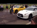 Nissan GT R 35 vs Chevrolet Comaro street race