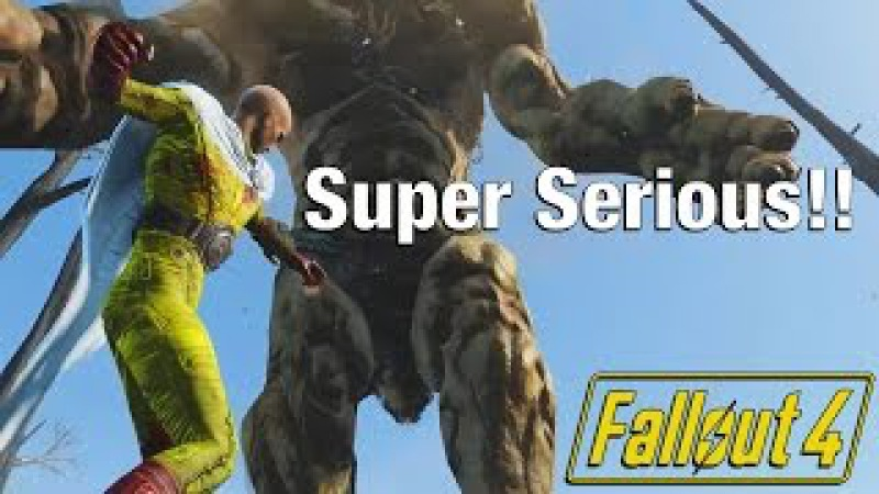 Fallout 4: TRUE One Punch Man!