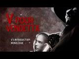V for Vendetta - kinetic typography  William ERHEL