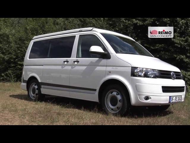 Campingbus Reimo FreeVan auf VW T5 kurzer Radstand