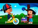 Развивающие мультфильмы для детей от 3 лет - Пеппе - 4 серия - Новая подруга Пеппе!