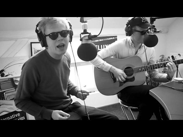 Kakkmaddafakka Young You live (acoustic) @FluxFM