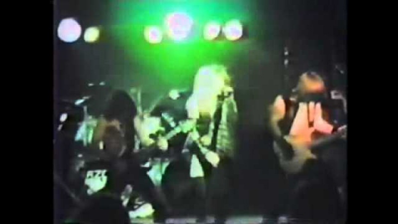 RAZOR March of Death live Mississauga 1984 eternal cult total death