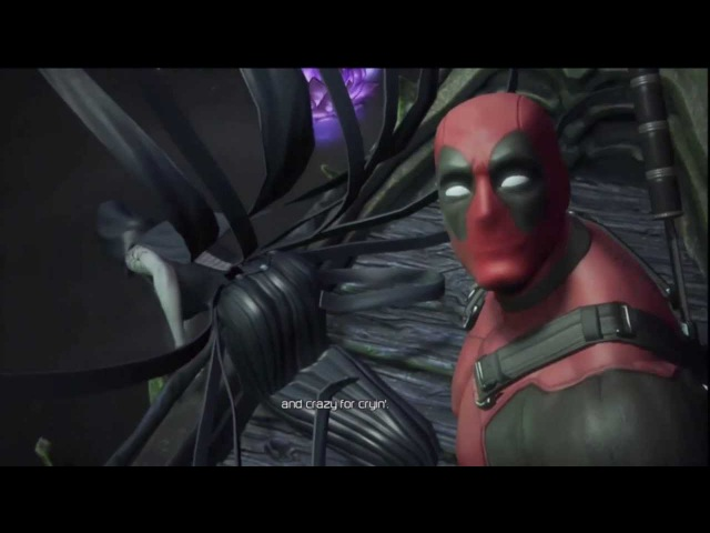 Death singing Crazy to Deadpool - Deadpool The Game [1080p]