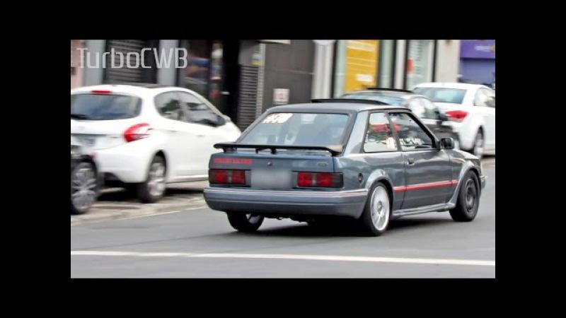 Ford Escort XR3 Turbo Acelerando forte! - Turbo CWB