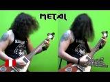 Разница игры на гитаре Панк-рока и Металла