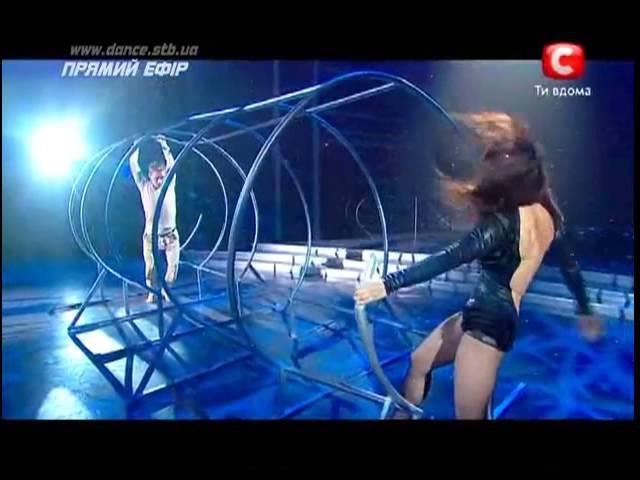 Танцуют все 5 9 Прямой эфир Оля и Ильдар Джаз 21 12 2012