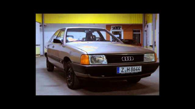 AUDI 100 C3 1.8i 1987. Ауди сигара.