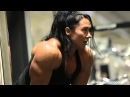 Alina popa looking huge Hard workout!